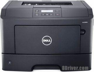 How to download Dell B2360d printer driver and setup on Windows XP,7,8,10
