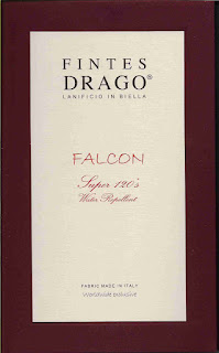 Fintes Drago - Falcon Super 120's - Water Repellent 650/-€