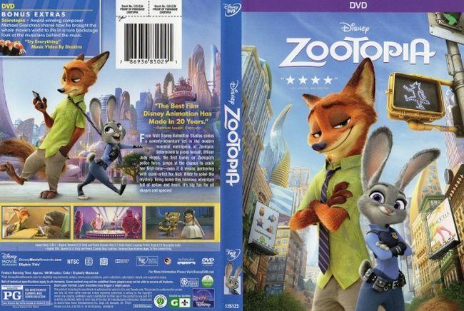Zootopia – Latino, Inglés, DVD9