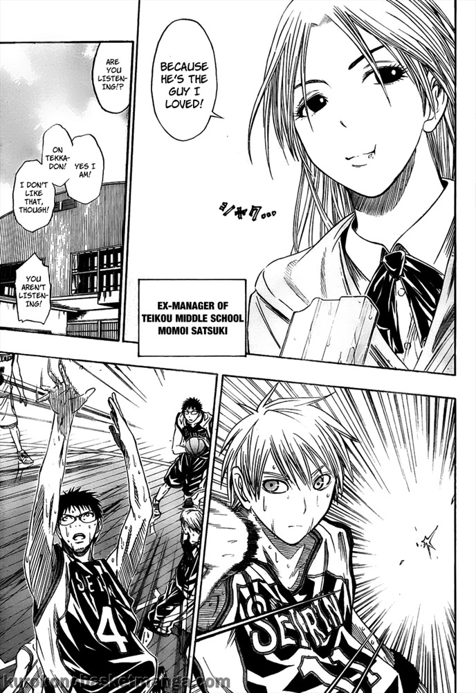Kuroko no Basket Manga Chapter 33 - Image 29