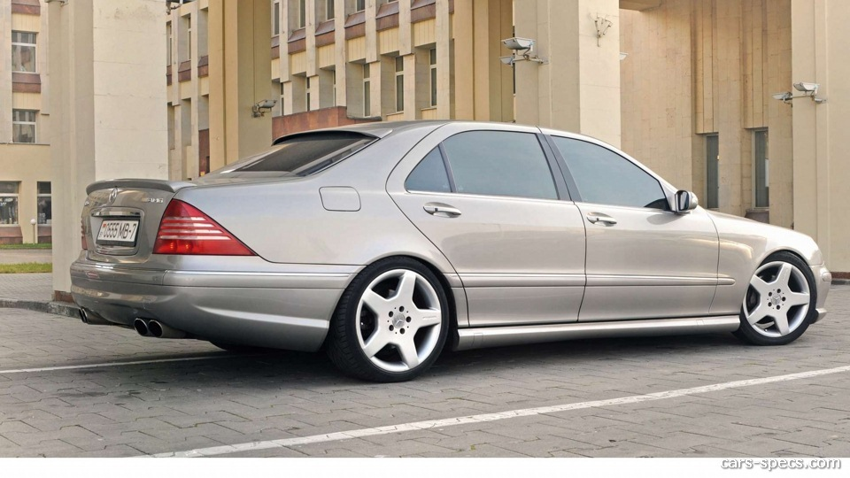 2002 Mercedes Benz S Class S55 Amg Specifications Pictures Prices