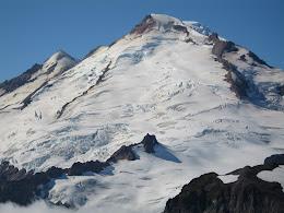 Park Glacier on east face of Mt Baker.