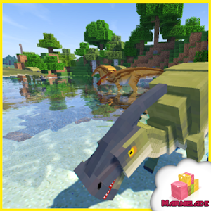 Map jurassic world in minecraft android apps on google play map jurassic world in minecraft gumiabroncs Image collections