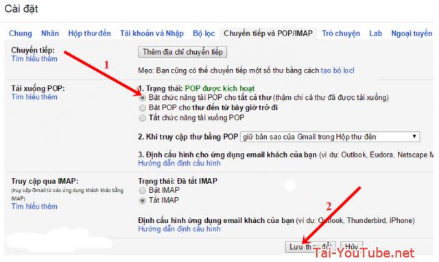 Cách sao lưu tất cả email trong tài khoản Google Gmail + Hình 2
