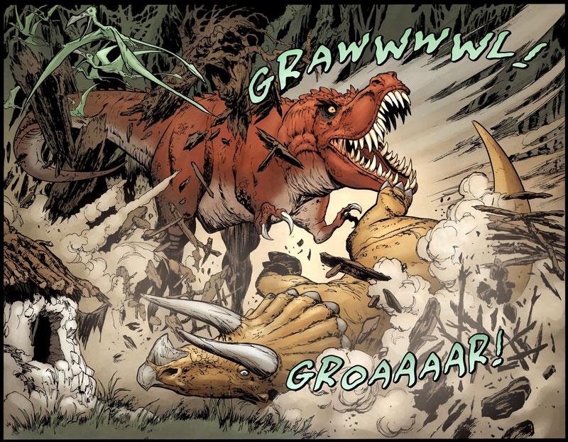 Tyrannosaurus Rex by Mark Kidwell, Jay Fotos, Jeff Sornow, Jason Arthur