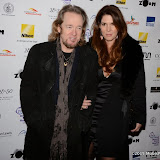OIC - ENTSIMAGES.COM - Adrian Smith and Nathalie Dufresne at the Zoom F1 - charity auction & reception London 16th January 2015 Photo Mobis Photos/OIC 0203 174 1069