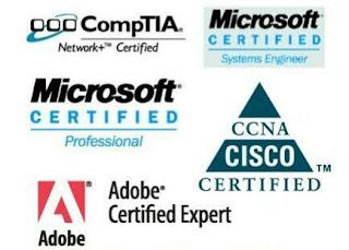 mengenal sertifikat dibidang teknologi informasi