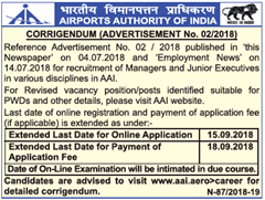 AAI Recruitment 2020 Apply Online 122 Apprentice Vacancies