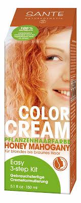 Color cream honey mahogany