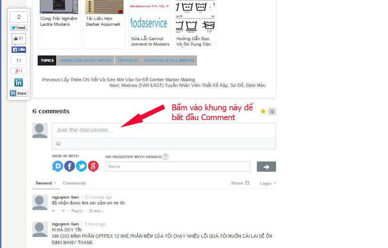 Hướng Dẫn Sử Dụng Hệ Thống Comment Disqus Tại Blog CongNgheMay.info 1