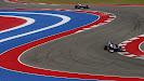 Pastor Maldonado, Williams FW35 Renault, leads Valtteri Bottas, Williams FW35 Renault