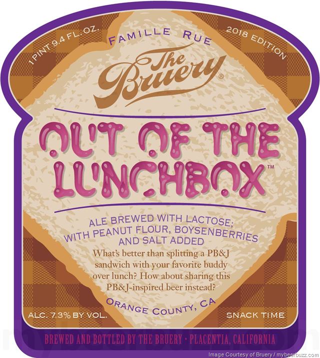 The Bruery - Out Of The Lunchbox Coming To Bottles