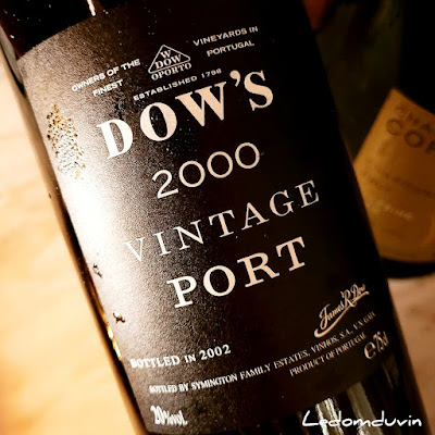 Dow's Vintage Port 2000 by ©LeDomduVin 2021