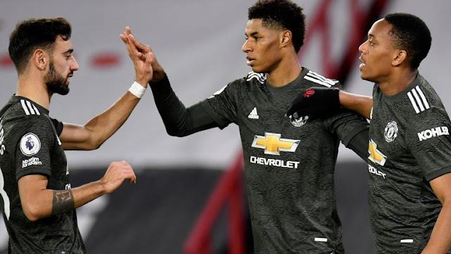 Manchester United Menang, Ini Kemenangan Keenam Berturut-turut di Tempat Lawan.