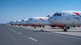 شركة الطيران النمساوية تبيع ثلاث طائرات من أسطولها بسبب الأزمة الإقتصادية الخانقة