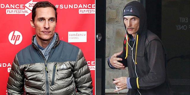 Matthew McConaughey y su transformación