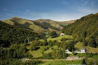 Malownicze krajobrazy Pirenejów Atlantydzkich - okolica Sainte Engrace.