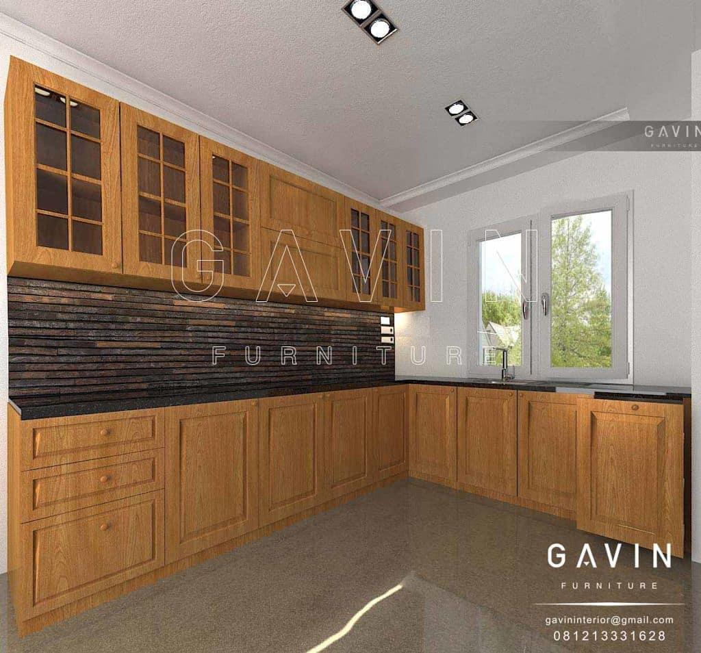 Furniture dapur minimalis sederhana
