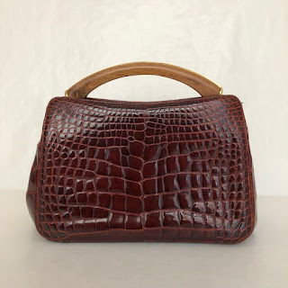 Suarez Alligator Crossbody Bag