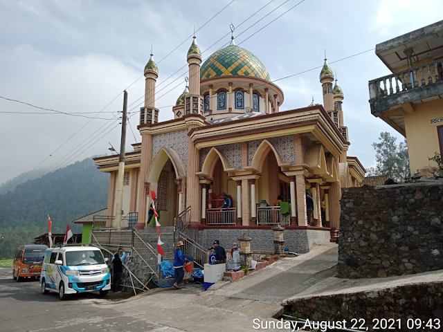 Kegiatan team BBM hari  Ahad 22 Agustus 2021 berkolaborasi dengan RRM (Resik Resik Masjid) Sukorejo di Masjid Almubarok, Mushola Al Anshar, Mushola Al Muhajirin Dusun Mantran Wetan, Desa Girirejo, Ngablak, Magelang