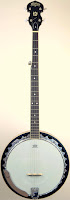 JAM USM Washburn B9 5 string resonator Banjo