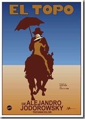 Alejandro Jodorowsky Film El Topo Poster