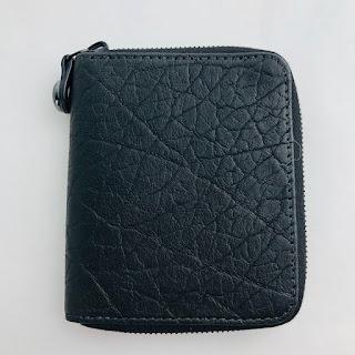 *SALE* Parabellum Black Leather Wallet