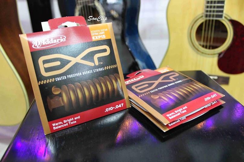 Dây Đàn Guitar Acoustic - D'Addario EXP15