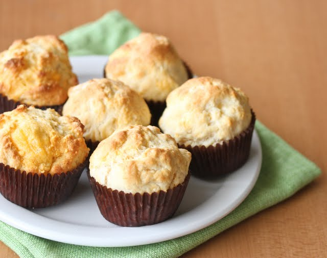 photo of muffins on a plate