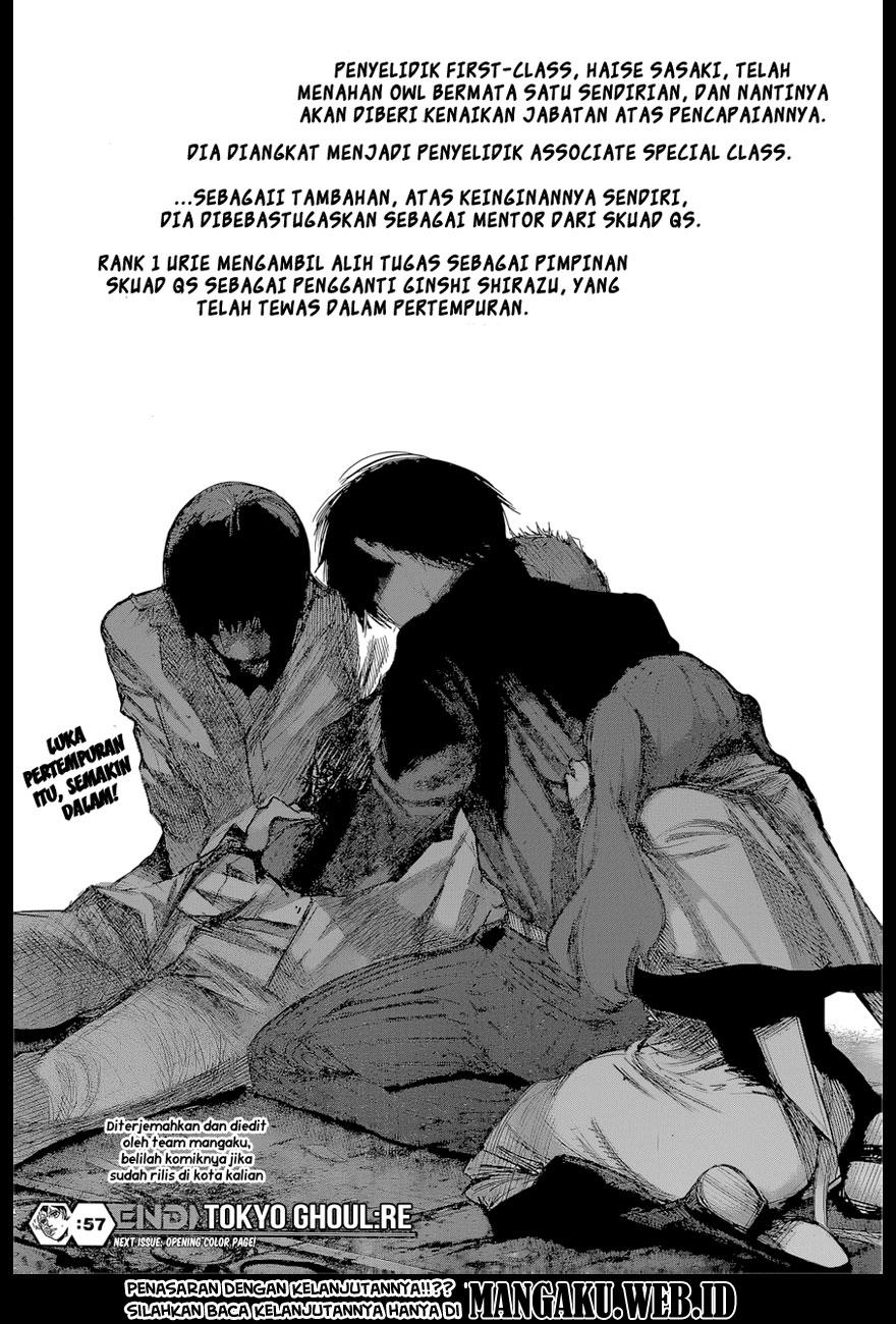 Baca Komik Tokyo Ghoul:re Chapter 57 KomikOtaku