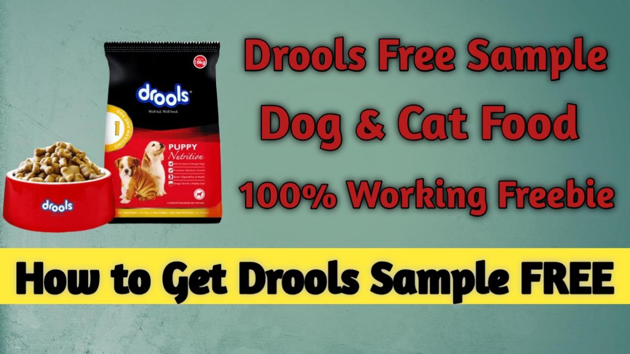 Drools Dog and Cat Food Free Sample