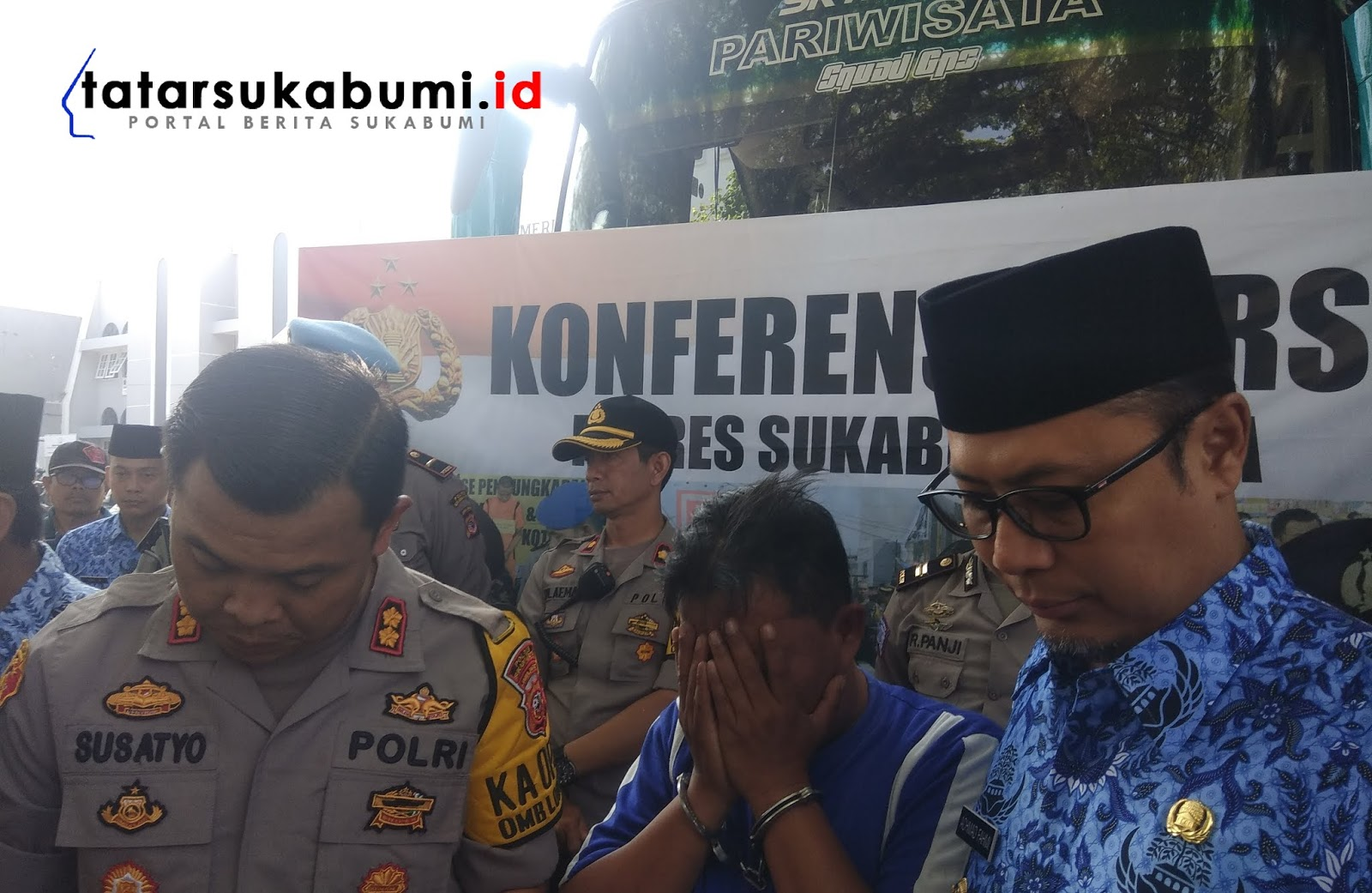 Sopir Bus Maut Pengantar Jemaah Haji Sukabumi Ditetapkan Menjadi Tersangka