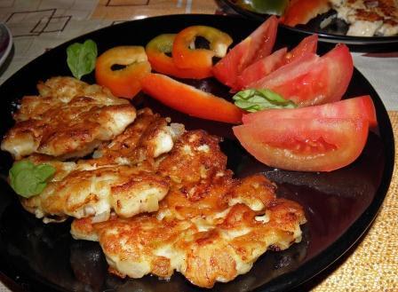 placki z kurczakiem