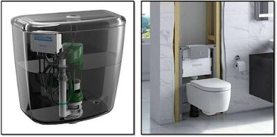 Automatic flushing cistern