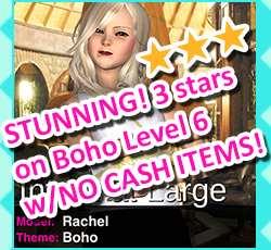 Style Me Girl Level 6 - Boho - Rachel - Stunning! Three Stars