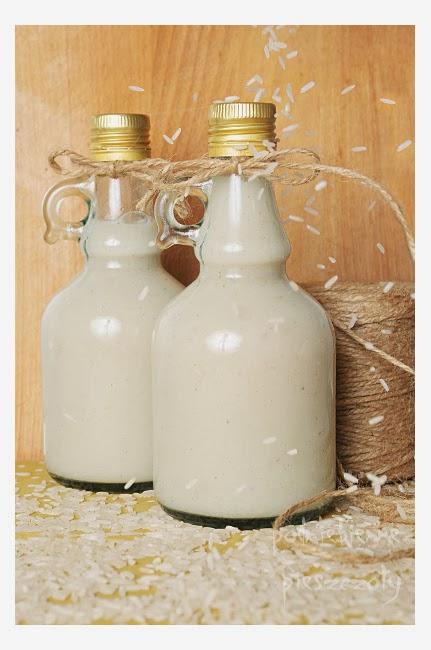 Domowe mleko ryżowo - waniliowe
