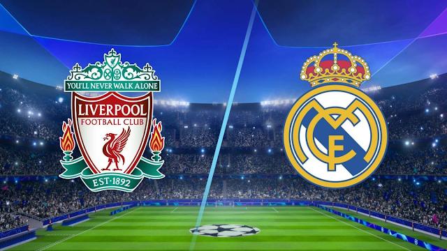 Watch Live Stream Match: Liverpool vs Real Madrid (UEFA CHAMPIONS LEAGUE)