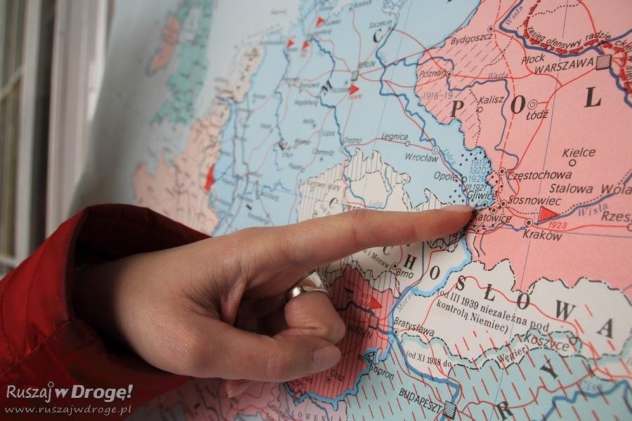 Palcem po mapie Gliwice