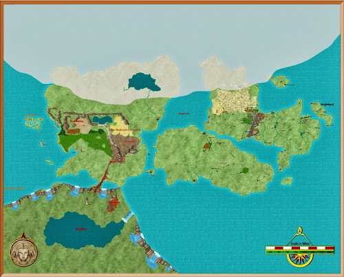Ea-reth - Early Map