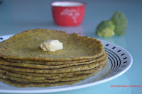 Broccoli Parathas
