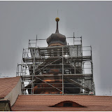 Oprava věže kostela v Třebnicích - 27.11.2014