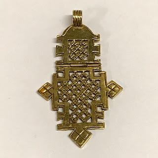 18K Gold Pendant