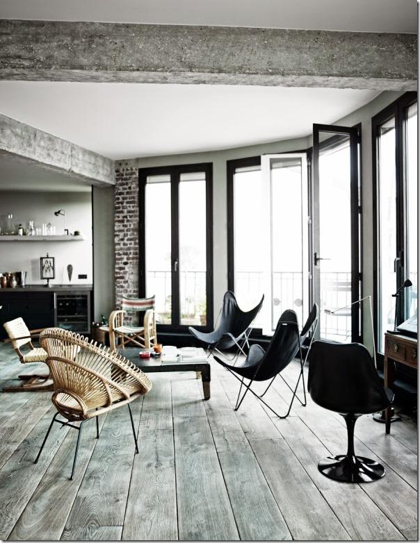 loft-stile-industriale-francese-pareti-vetrate-6