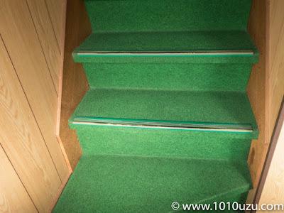 きれいになった階段