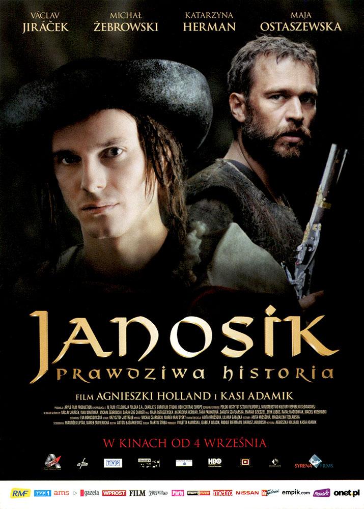 Ulotka filmu 'Janosik. Prawdziwa Historia (przód)'