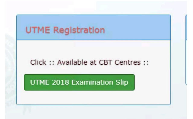 Guided Steps On How to Reprint your UTME Exam Slip via JAMB Portal