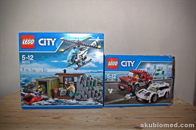 2 set kota LEGO CITY