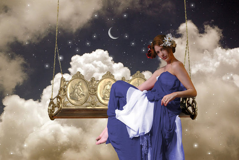 Girl In The Clouds Of A Night, Magic Beauties 3