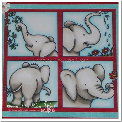 Elephants in Squares (5)