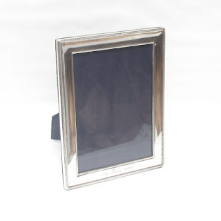 Sterling Silver Engraved Picture Frame
